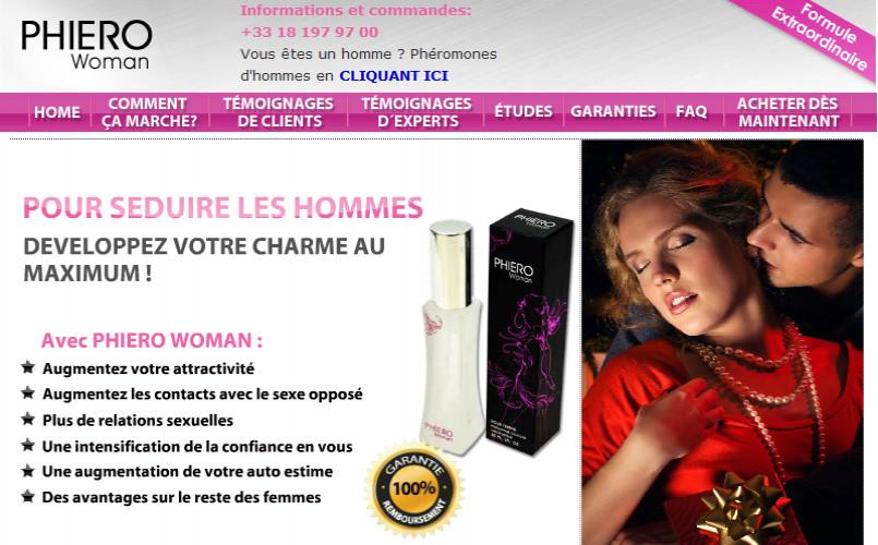 Parfum Phéromones Phiero Woman